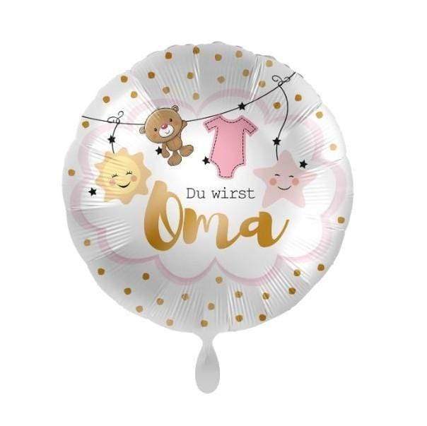 folienballon du wirst oma baby 2000x - Schwangerschaft verkünden: 19 süße Wege deine Schwangerschaft zu verkünden